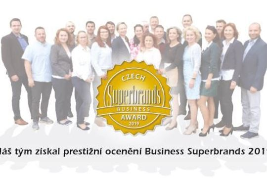Czech Superbrands 2019 pro EKOBAL