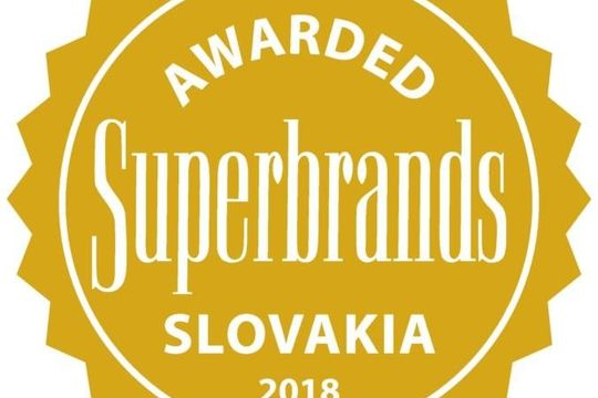 Ekobal získal cenu Slovak Business Superbrands Award 2018